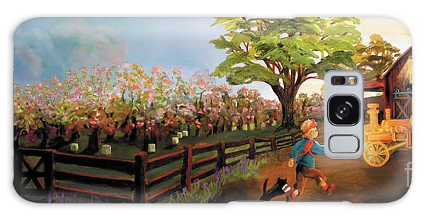 Orchard And Barn Galaxy Case