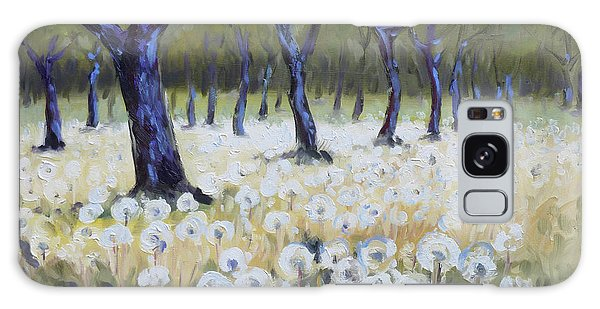 Orchard With Dandelions Galaxy Case by Irek Szelag