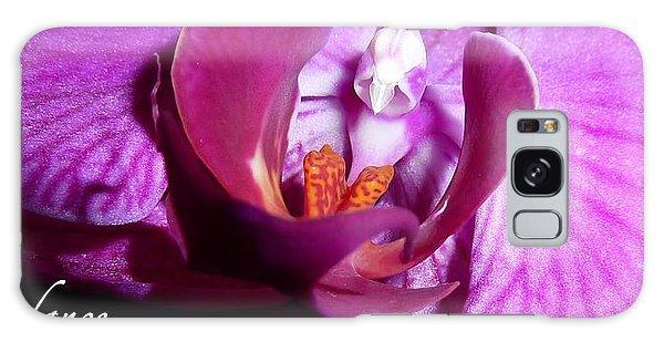 Orchid Abundance Galaxy Case