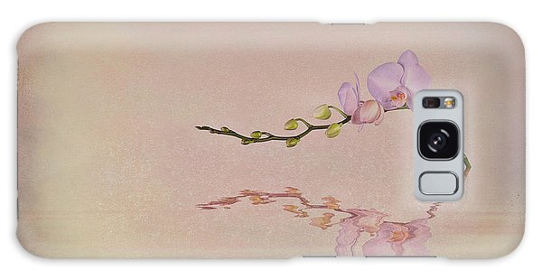 Beautiful Galaxy Case - Orchid Blooms And Buds by Tom Mc Nemar