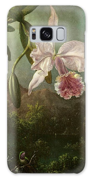 Orchidaceae Galaxy Case - Orchid Blossoms by Martin Johnson Heade