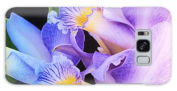Orchid Bouquet Galaxy Case by Cindy Manero