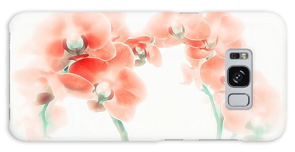 Orchid Collection 'soft Red' Galaxy Case