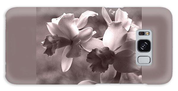 Orchid Dream - Square Galaxy Case by Kerri Ligatich