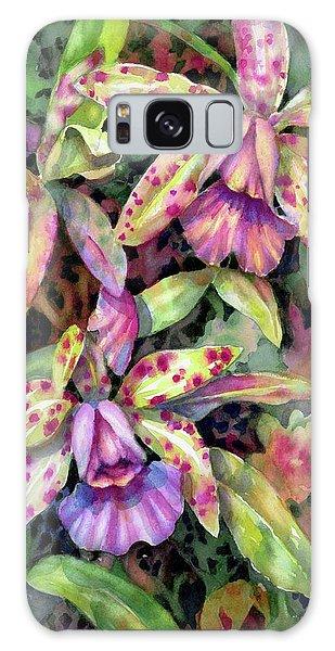 Orchid Garden I Galaxy Case