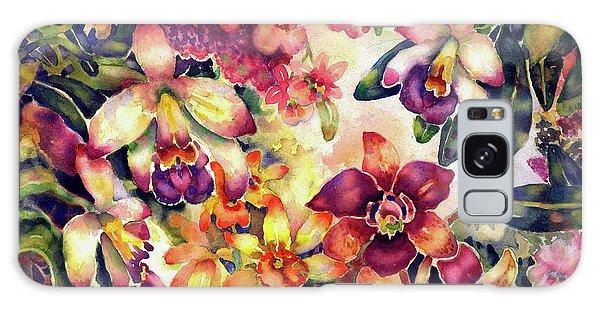 Orchid Garden II Galaxy Case