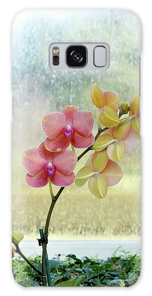 Orchid In Portrait Galaxy Case