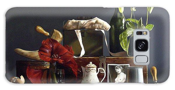 Amaryllis Galaxy Case - Orchid by Lawrence Preston