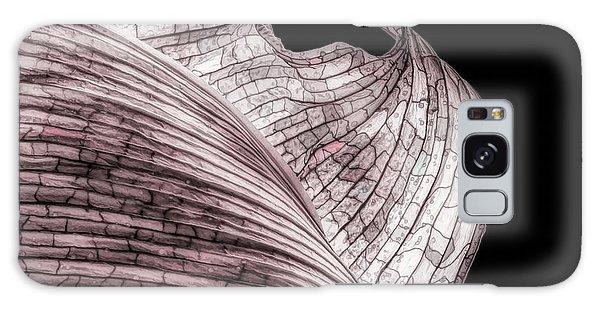 Orchid Galaxy Case - Orchid Leaf Macro by Tom Mc Nemar