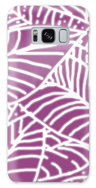 Orchid Leaves Batik Galaxy Case