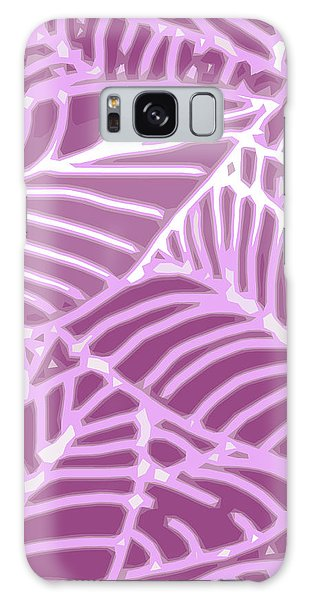 Orchid Leaves Cutout Galaxy Case