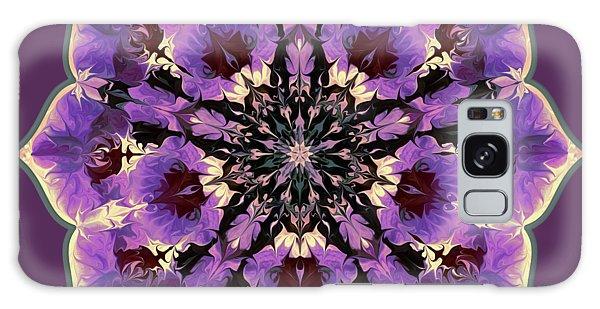 Orchid Lotus Galaxy Case