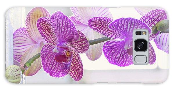 Orchid Spray Galaxy Case