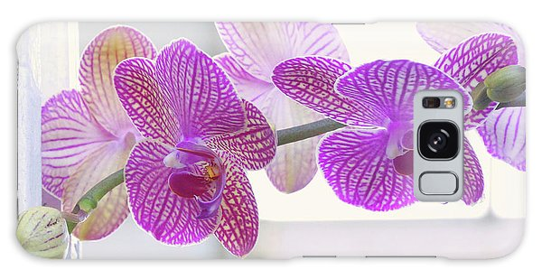 Orchid Spray Galaxy Case