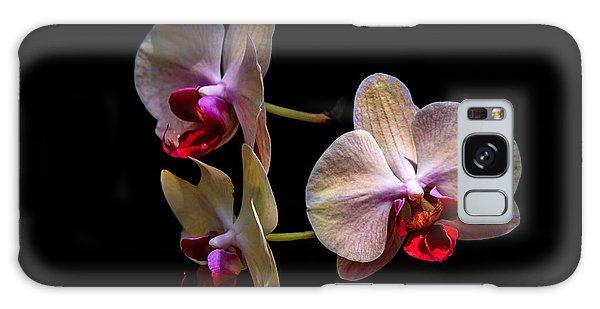 Orchid Trio  Galaxy Case