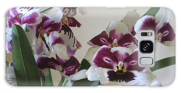 Orchids Galaxy Case by Deborah Dendler