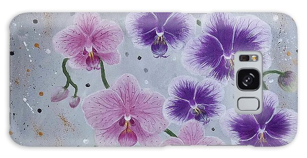 Orchids Galore Galaxy Case