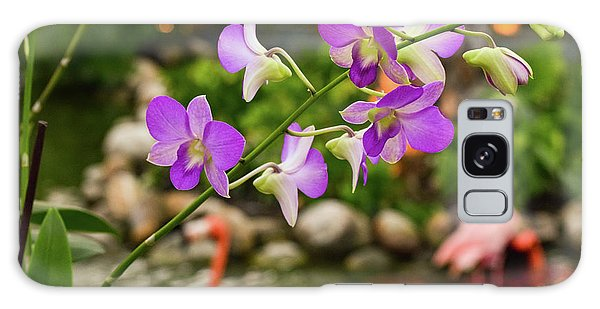 Orchids In Paradise Galaxy Case