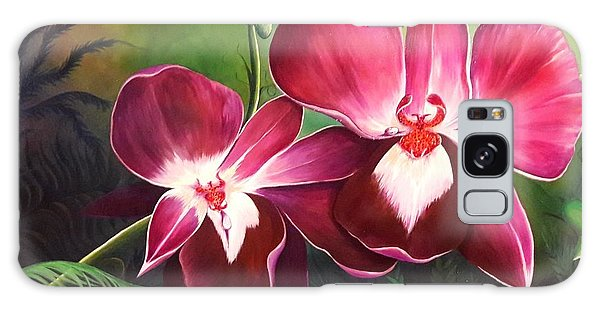 Orchids In The Night Galaxy Case