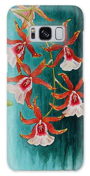 Orchids - Volcano Queen Galaxy Case