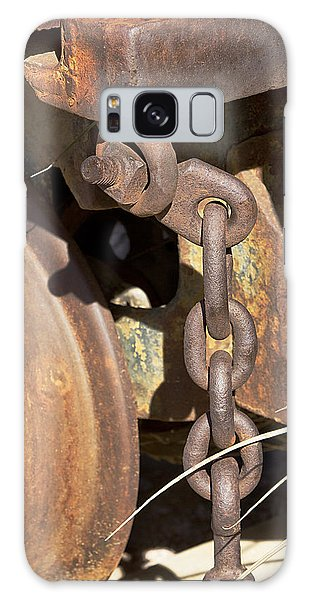 Ore Car Chain Galaxy Case by Phyllis Denton
