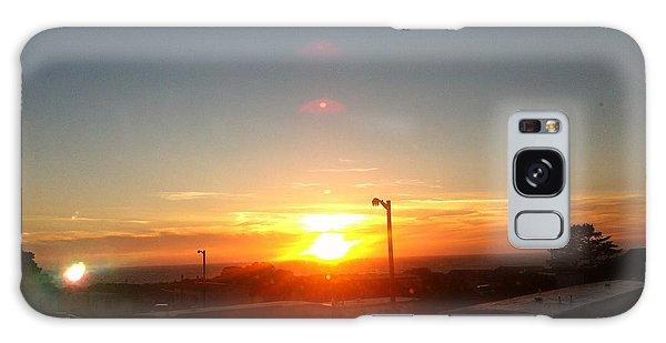 Oregon Blazing Sunset Galaxy Case