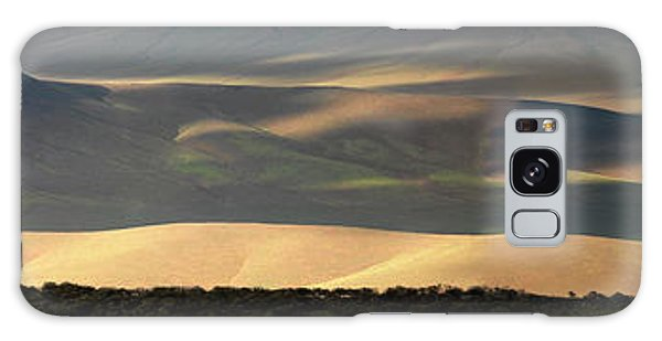 Oregon Canyon Mountain Layers And Textures Galaxy Case by Leland D Howard