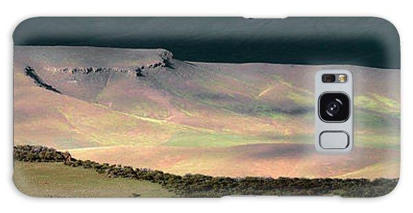 Oregon Canyon Mountain Layers Galaxy Case by Leland D Howard