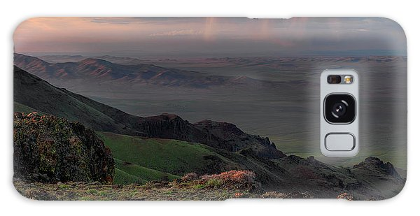 Oregon Canyon Mountain Views Galaxy Case by Leland D Howard