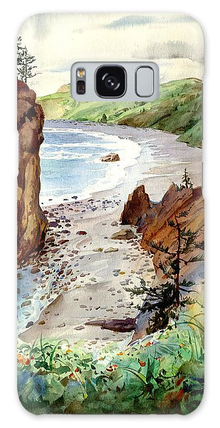 Oregon Coast #3 Galaxy Case by John Norman Stewart