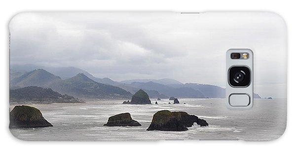 Oregon Coast Mountain Clouds Landscape Galaxy Case by Andrea Hazel Ihlefeld