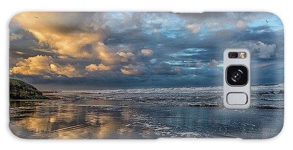 Oregon Coast Reflections Galaxy Case