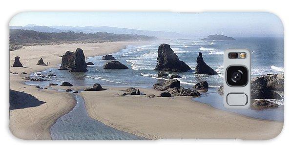 Oregon Coast Sea Stacks Galaxy Case