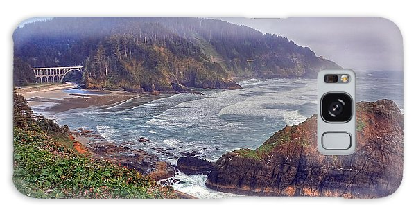 Oregon Pacific Coastline Galaxy Case