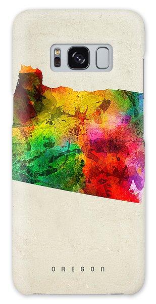 Oregon State Map 01 Galaxy Case