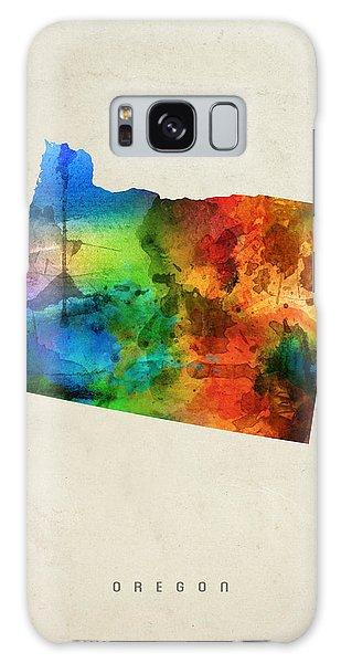 Oregon State Map 03 Galaxy Case