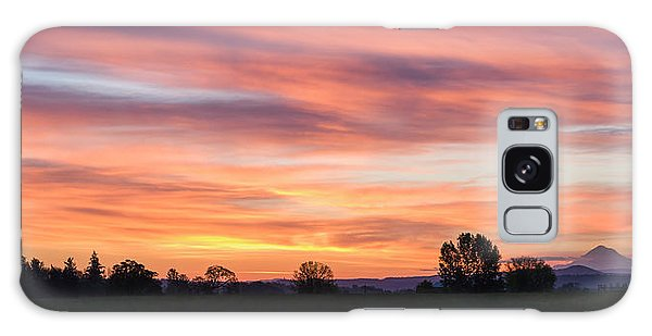 Oregon Sunrise Galaxy Case