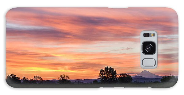 Oregon Sunrise Galaxy Case