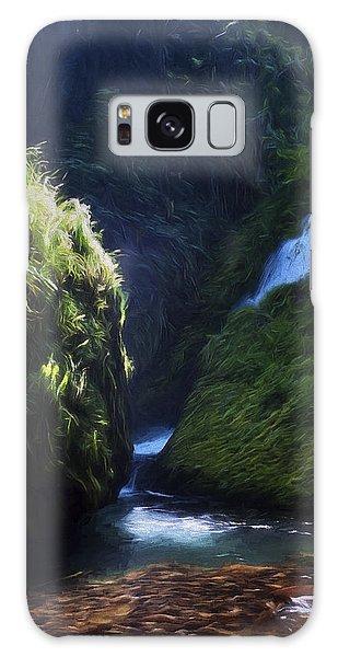 Oregon Waterfall Galaxy Case