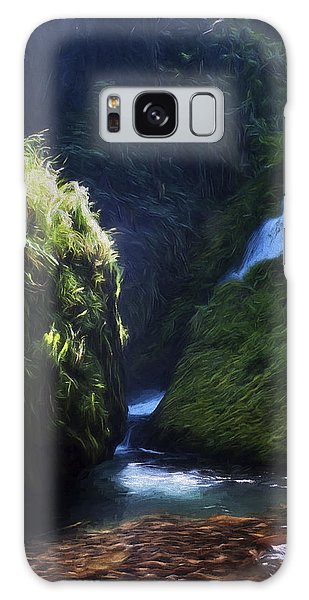 Oregon Waterfall Galaxy Case