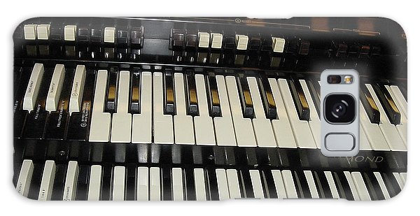 Hammond Organ Keys Galaxy Case