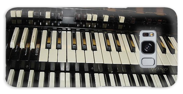 Hammond Organ Keys Galaxy Case