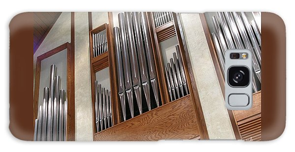 Organ Pipes Galaxy Case by Ann Horn
