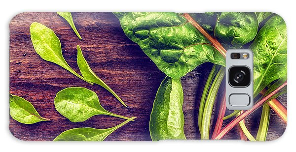 Organic Rainbow Chard Galaxy Case