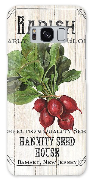 Organic Seed Packet 3 Galaxy Case by Debbie DeWitt