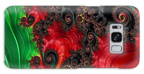 Surreal Digital Art Galaxy Case - Oriental Abstract by Marianna Mills