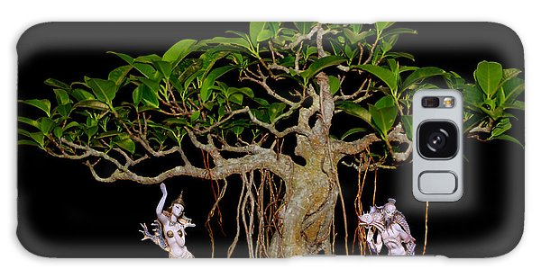 Oriental Bonsai Gods Galaxy Case by Gary Crockett