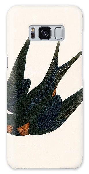 Song Bird Galaxy Case - Oriental Chimney Swallow by English School
