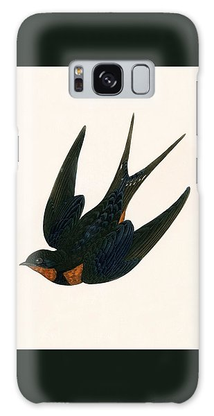 Oriental Chimney Swallow Galaxy Case