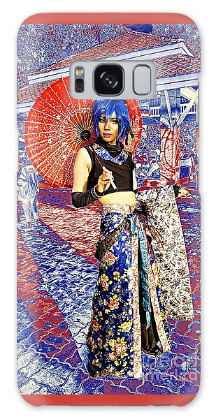 Oriental Cosplayer Galaxy Case by Ian Gledhill